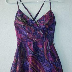 Gorgeous Trina Turk Criss Cross Back Dress 0